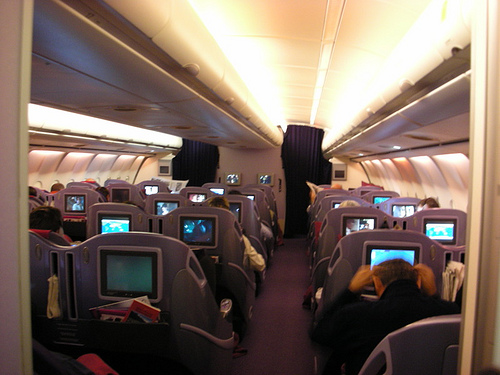 Thai Airways International  - Business Class view