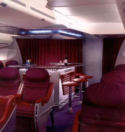 Virgin Atlantic - Relaxation and cosiness