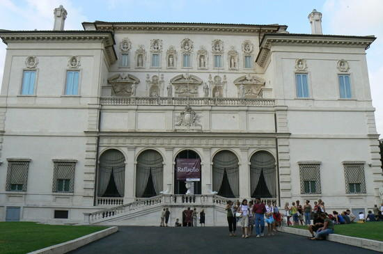 Galeria Borghese in Rome, Italy - External view