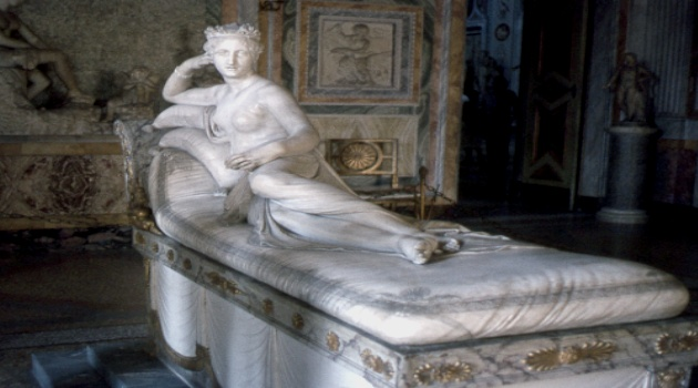 Galeria Borghese in Rome, Italy - Gallery view