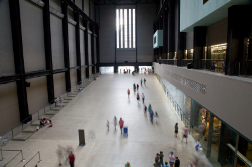 Tate Modern Bankside in London, United Kingdom - Inside view