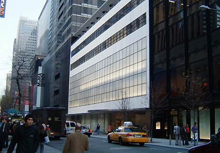 Museum of Modern Art in New York, USA - External view