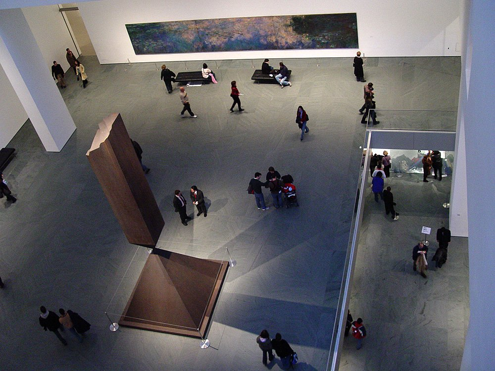 Museum of modern art in new york usa inside view images