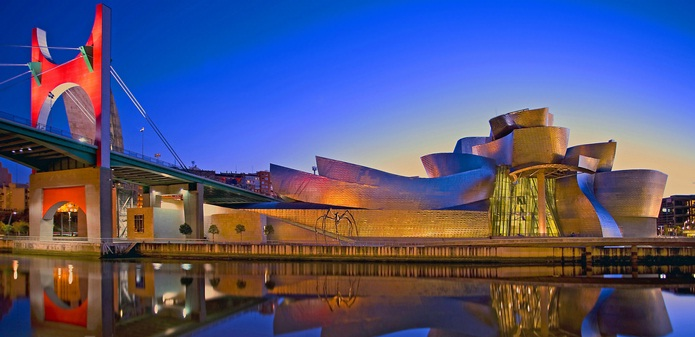 Guggenheim Museum in Bilbao, Spain - Guggenheim Museum general view