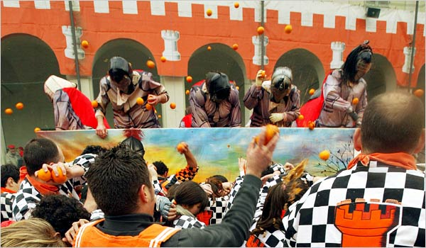 Ivrea Orange Festival - Orange battle