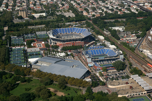 USTA Billie Jean King National Tennis Center - Aerial view