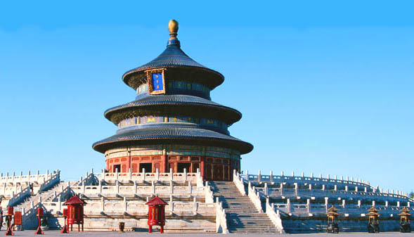 Beijing in China - The temple of Heaven