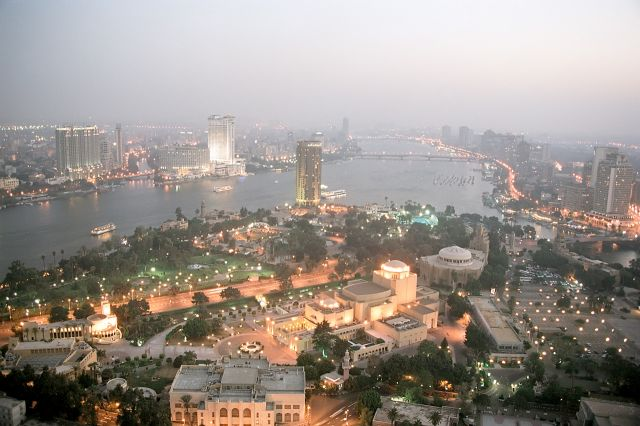 Cairo in Egypt - Aerial view