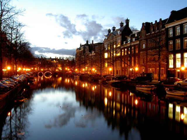 Amsterdam in Netherlands - Amsterdam channels