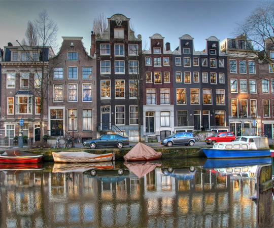 Amsterdam in Netherlands - General view