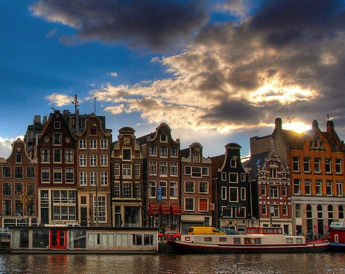 Amsterdam in Netherlands - Majestic structure