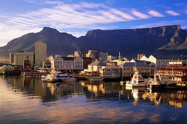 Cape Town in South Africa - General view