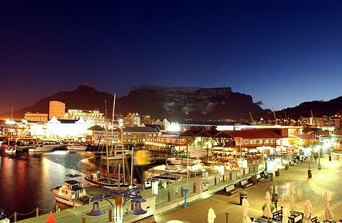 Cape Town in South Africa - Night view