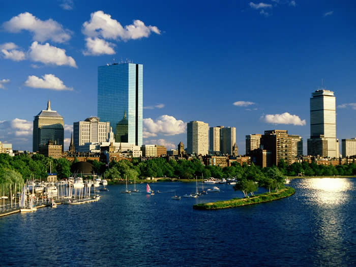 Boston General View