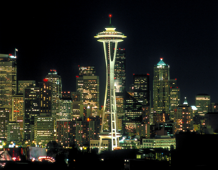 Seattle - Night view