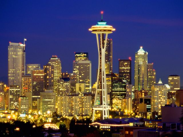 Most Beautiful Cities In The Usa Seattle Skyline