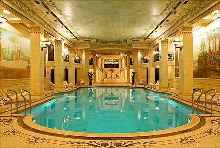Images ritz paris indoor swimming pool 2123 for Top design hotels in paris