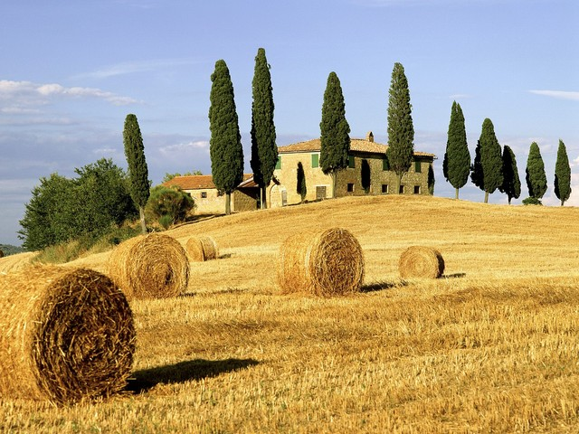 Tuscany in Italy - Peace and beauty
