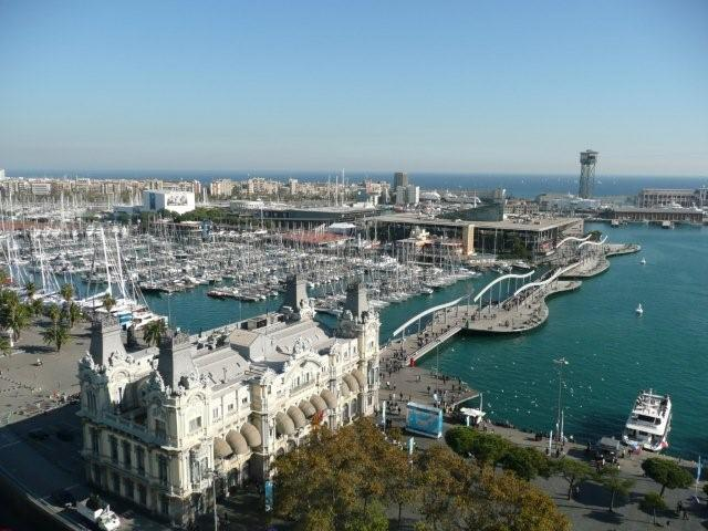 Barcelona in Spain - Port Vell
