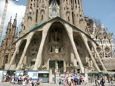 Barcelona in Spain - Sagrada Familia