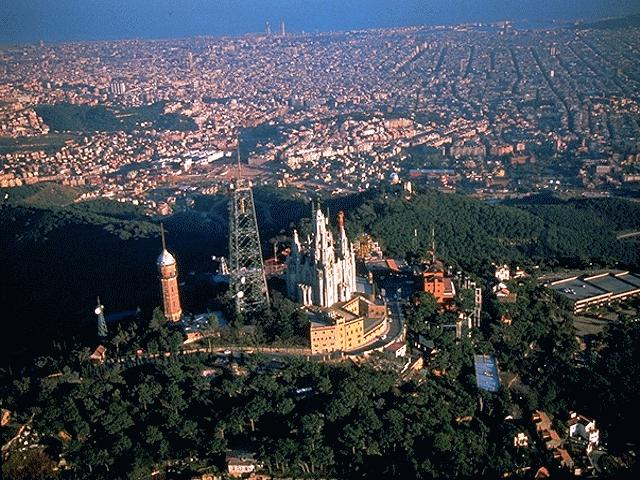 Barcelona in Spain - Tibidabo