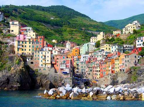 The best wedding destinations in the world -> Italian Riviera in Italy