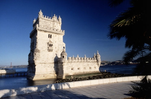 Lisbon in Portugal - Belem Tower