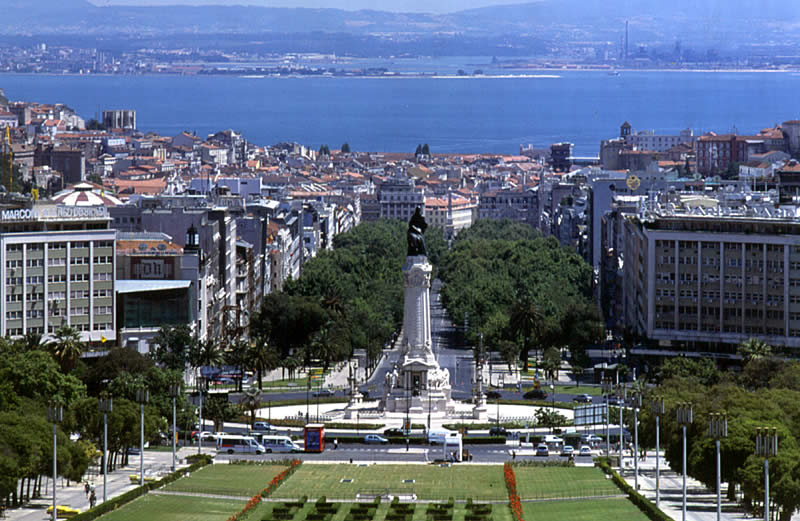 Lisbon in Portugal - City view