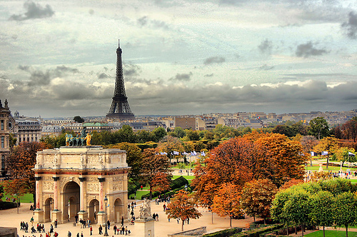 Paris in France - General view