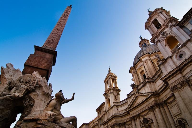 Rome in Italy - Piazza Navona
