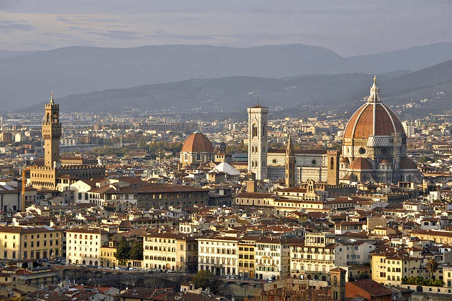 Florence in Italy - Skyline