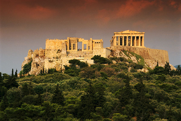 Athens in Greece - Ancient remains