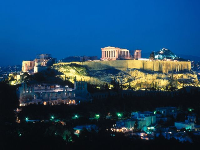 Athens in Greece - General view