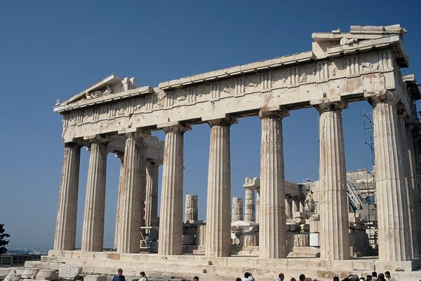 Athens in Greece - Parthenon