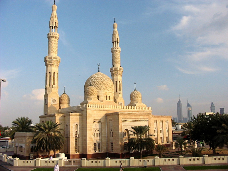 Dubai in United Arab Emirates - Jumeirah Mosque