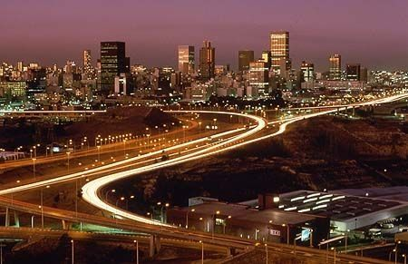 Johannesburg - Night view