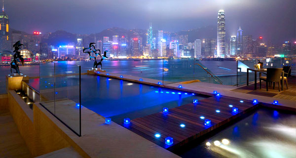 Intercontinental the best swimming pools in the world - The coolest swimming pool in the world ...