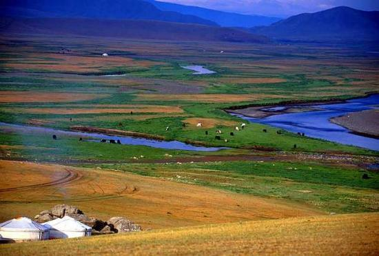 Mongolia - Nomads homes