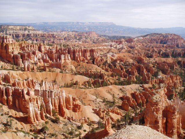 Bryce Canyon National Park in Utah - General view