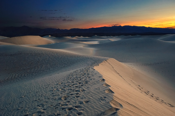 Dunes of Death Valley National Park - Beautiful landscape