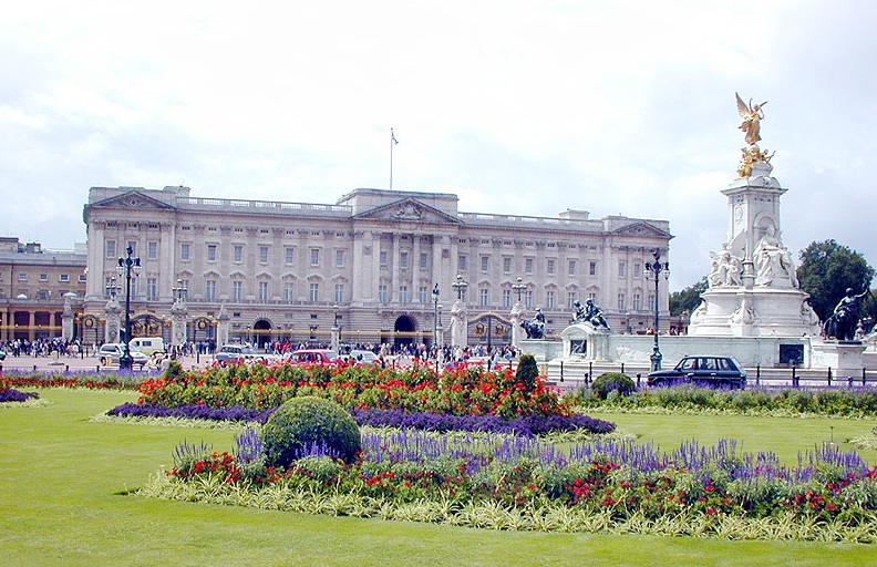 London in United Kingdom - Buckingham Palace view