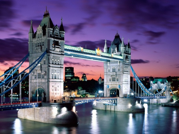 London in United Kingdom - Tower Bridge view