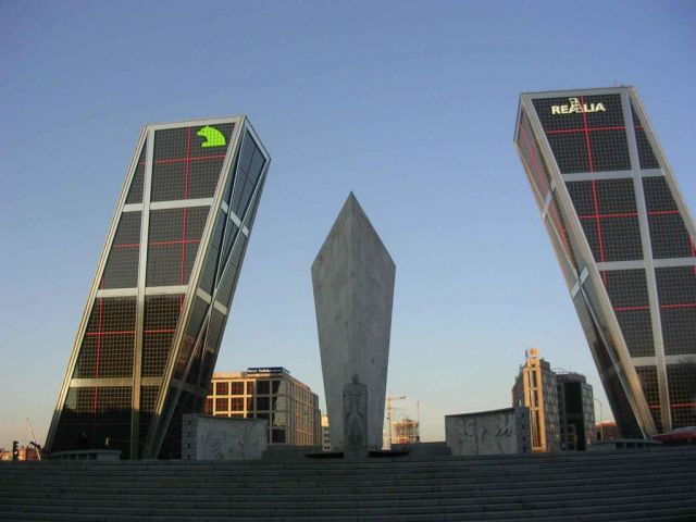 Madrid in Spain - KIO Towers