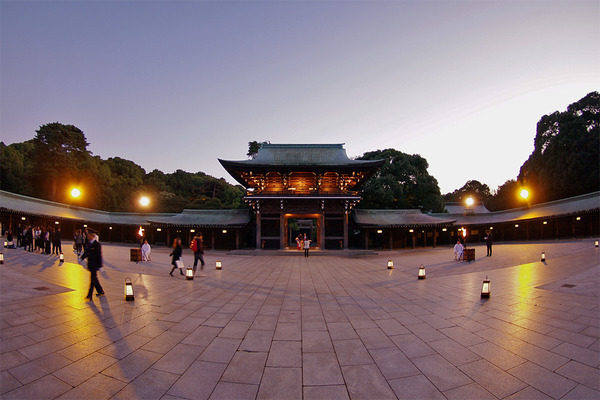 Meiji Shrine in Tokyo, Japan - General view