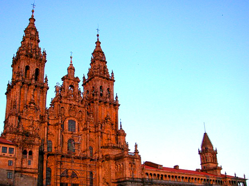 Santiago de Compostela Cathedral in Spain - Architectural elements
