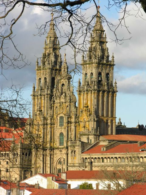 Santiago de Compostela Cathedral in Spain - Beautiful architecture