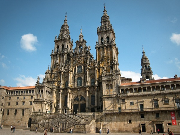 Santiago de Compostela Cathedral in Spain - Beautiful cathedral