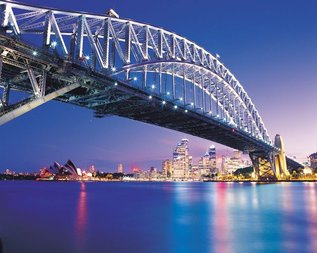 Sydney in Australia - Harbour Bridge