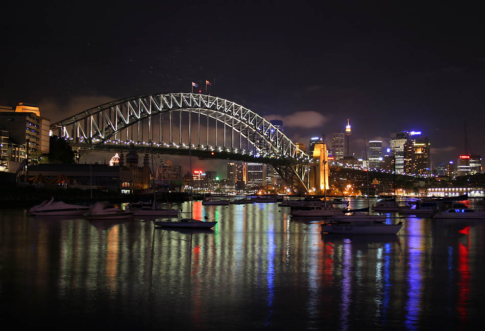 Sydney in Australia - Sidney night view