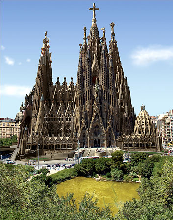 Sagrada Familia in Barcelona, Spain - Great design